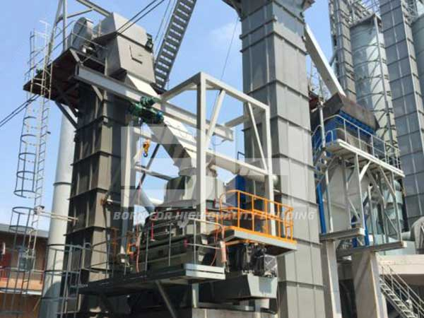 Annual output of 400,000 tons dry mortar production line
