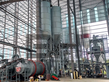 10-30TPH Automatic Dry Mortar Plant