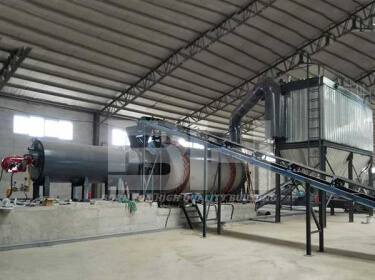 Three Cylinder Rotary Sand Dryer